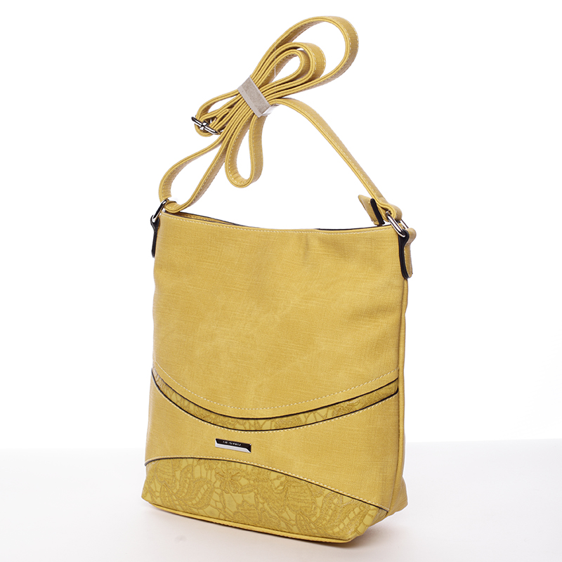 Praktická crossbody kabelka  Debora, žlutá