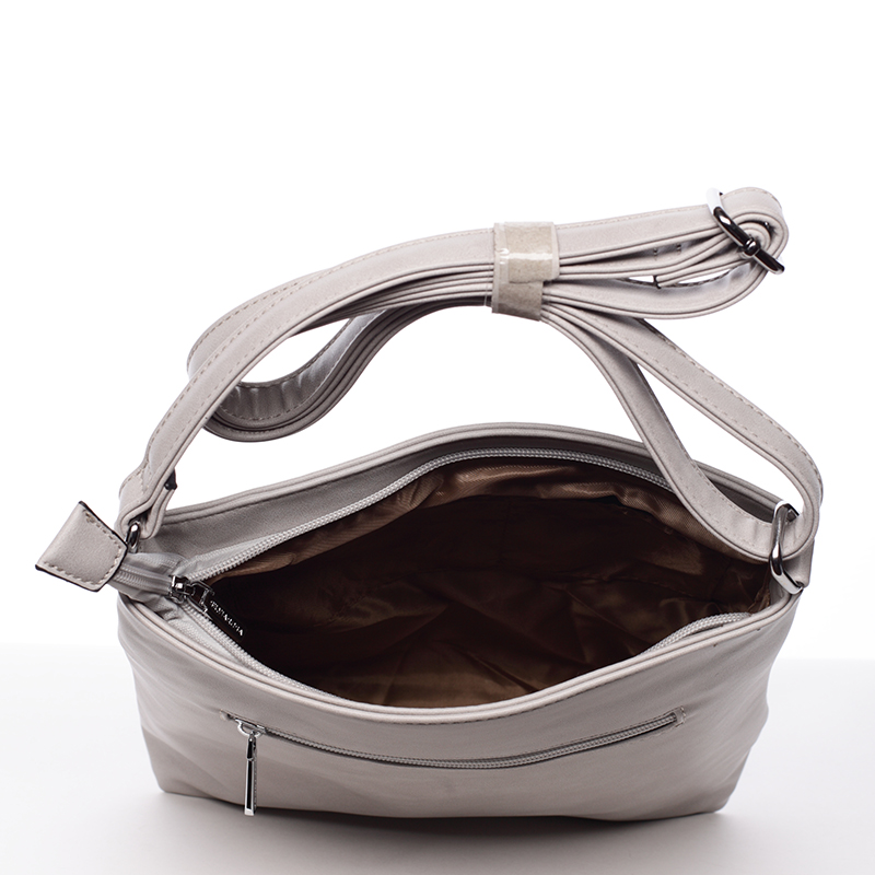 Crossbody kabelka Angela, šedá