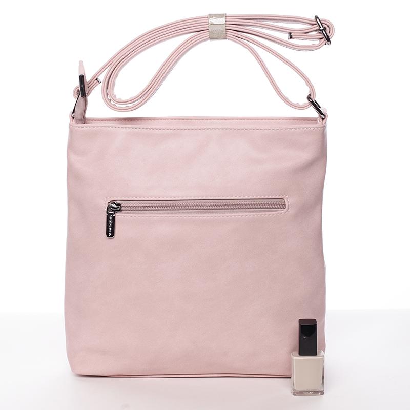 Crossbody kabelka Angela, růžová