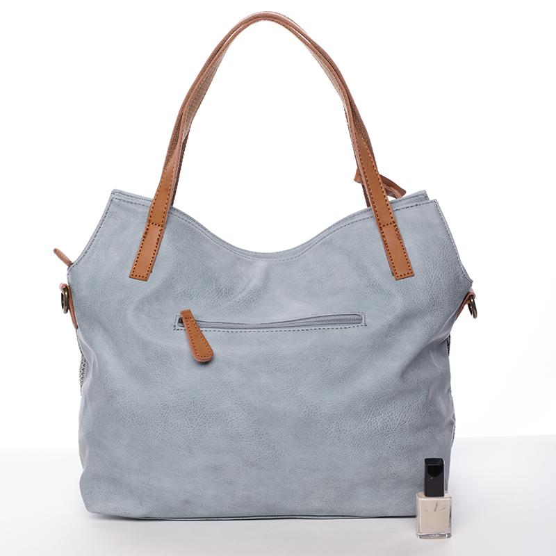 Trendy dámská kabelka přes rameno Giada, modrá