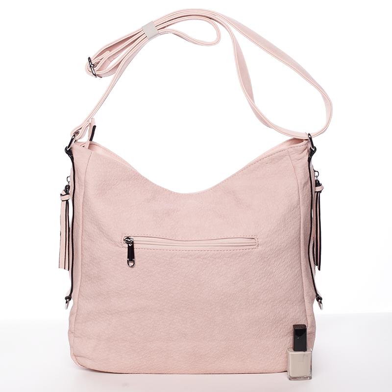 Dámská kabelka/crossbody Roberta, růžová