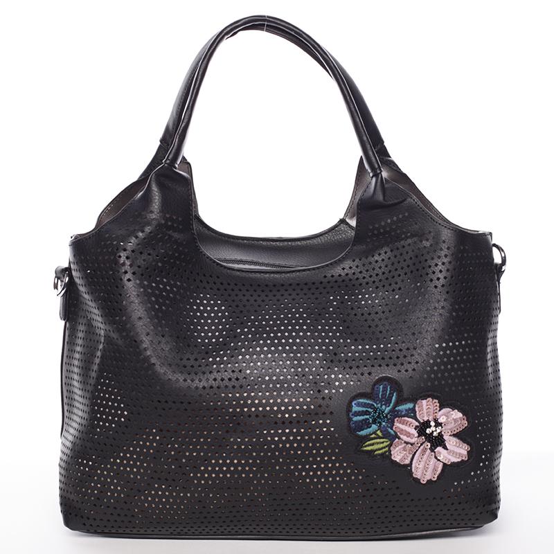Elegantní módní kabelka MC Mary Elena, černá