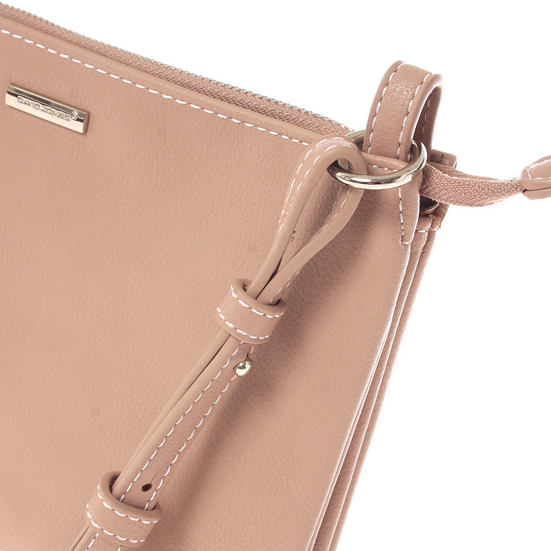 Dámská basic crossbody MONIQUE, pink