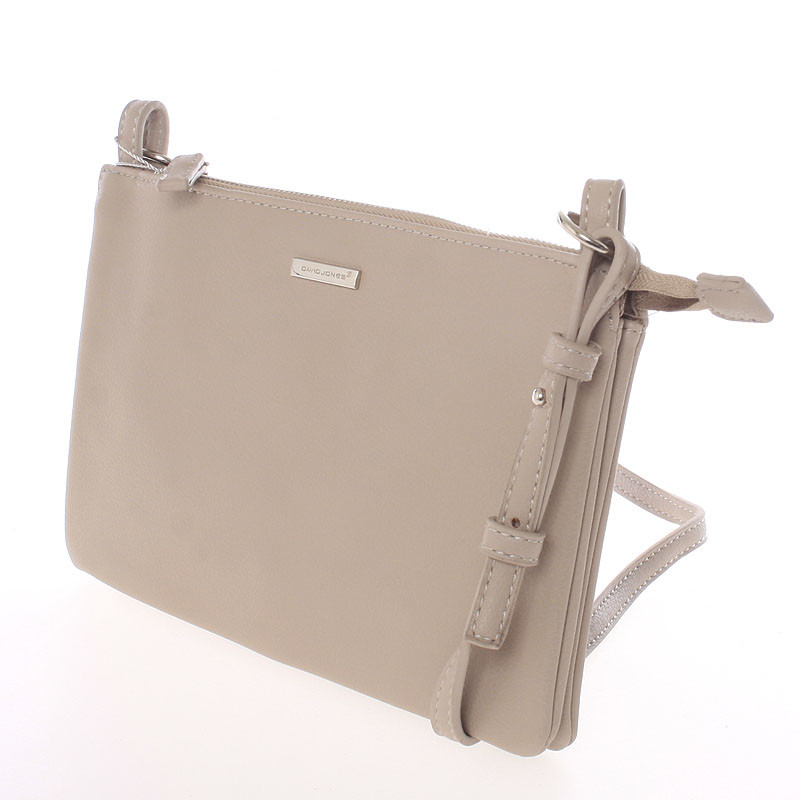 Dámská basic crossbody MONIQUE, camel