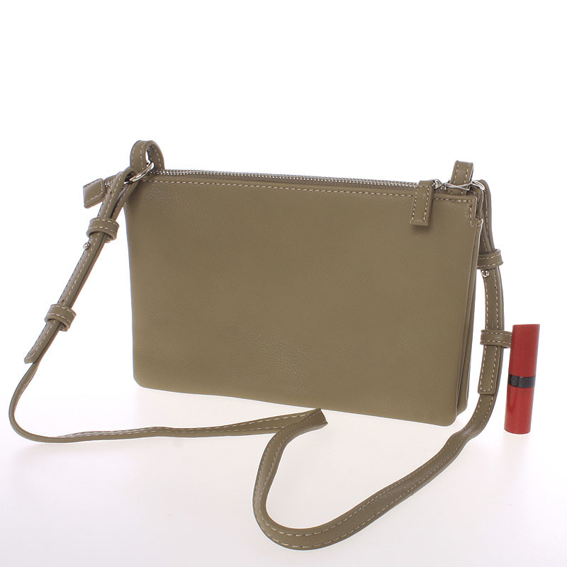 Dámská basic crossbody MONIQUE, khaki