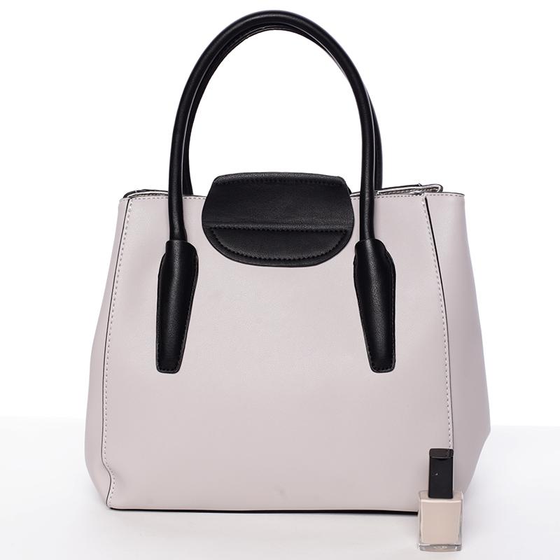 Elegantní kabelka do ruky Alana, oříšková