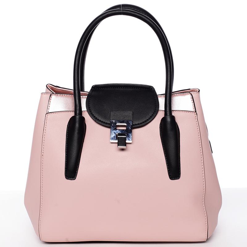 Elegantní kabelka do ruky Alana, růžová