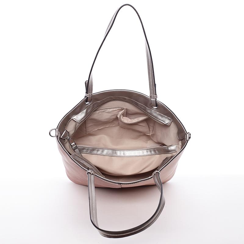 Dámská kabelka přes rameno Doria, růžová