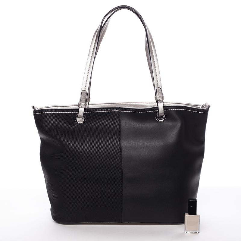 Dámská kabelka přes rameno Doria, černá