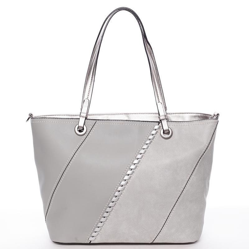 Dámská kabelka přes rameno Doria, šedá