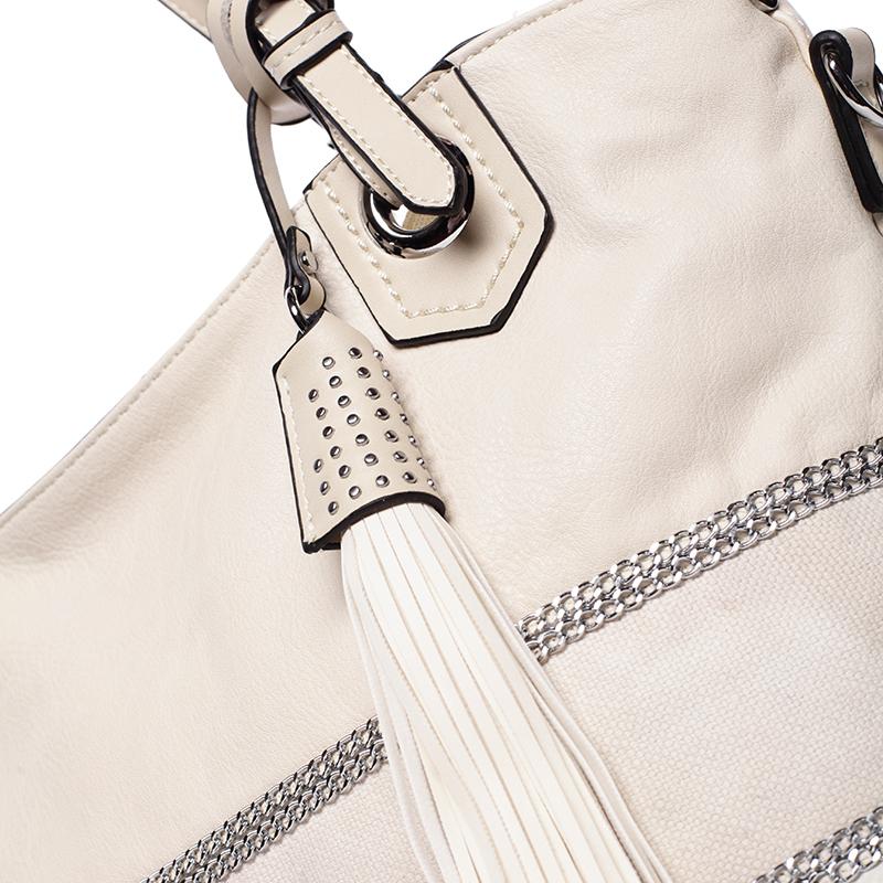 Módní kabelka Mc Mary CAROLINE, béžová