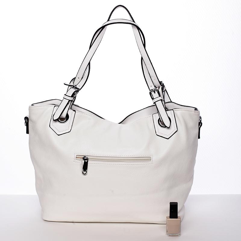 Módní kabelka Mc Mary CAROLINE, bílá