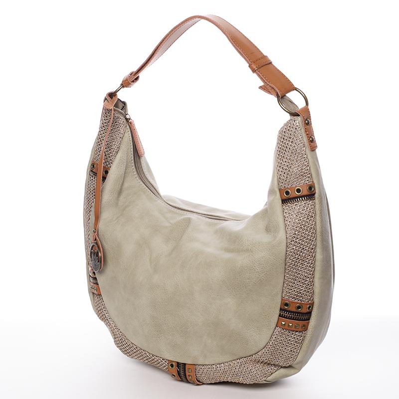 Originální dámská kabelka přes rameno  MARGUERITE, zelená