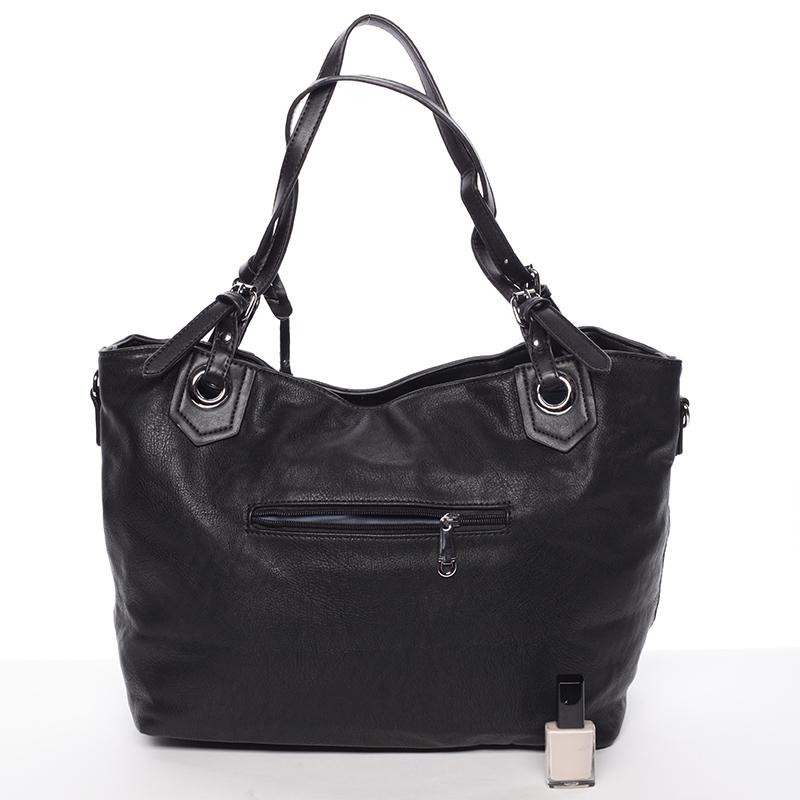 Módní kabelka Mc Mary CAROLINE, černá
