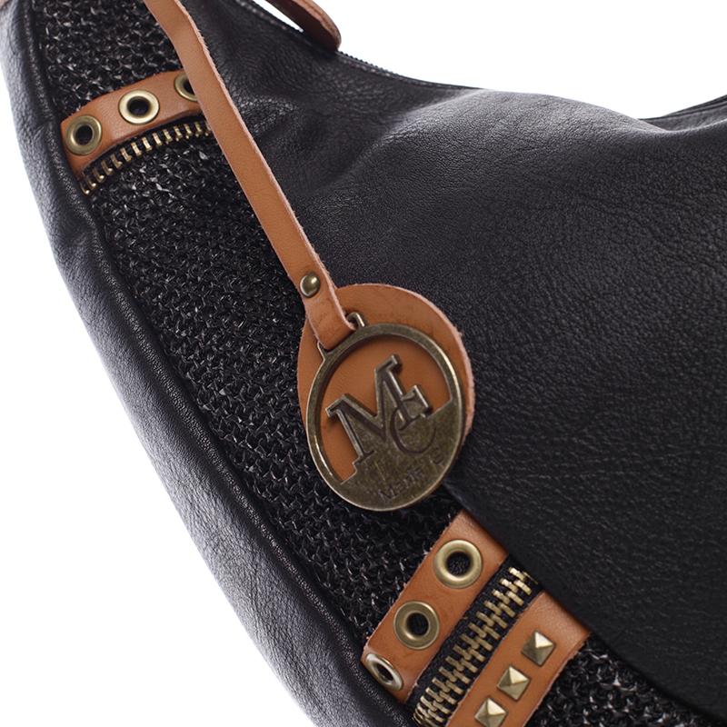 Originální dámská kabelka přes rameno  MARGUERITE, černá