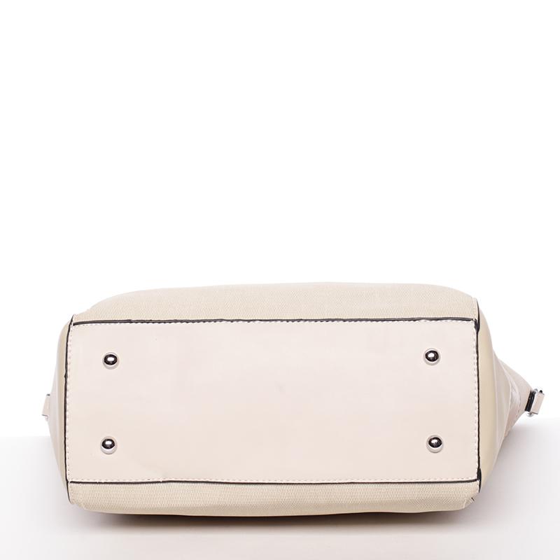 Dámská kabelka přes rameno Patricie, béžová