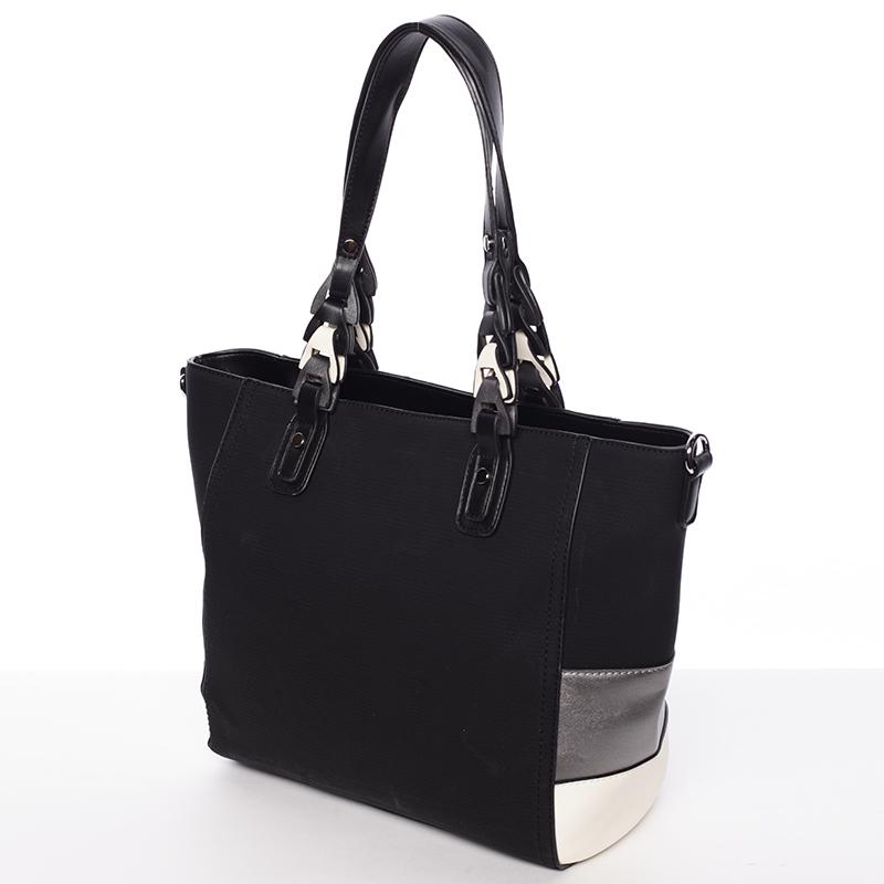 Dámská kabelka přes rameno Patricie, černá