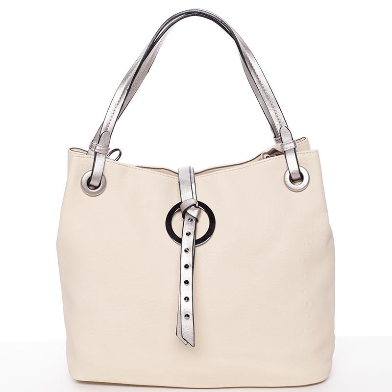 Velice módní kabelka Fatima, meruňková