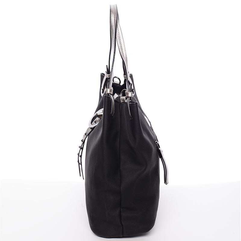 Velice módní kabelka Fatima, černá