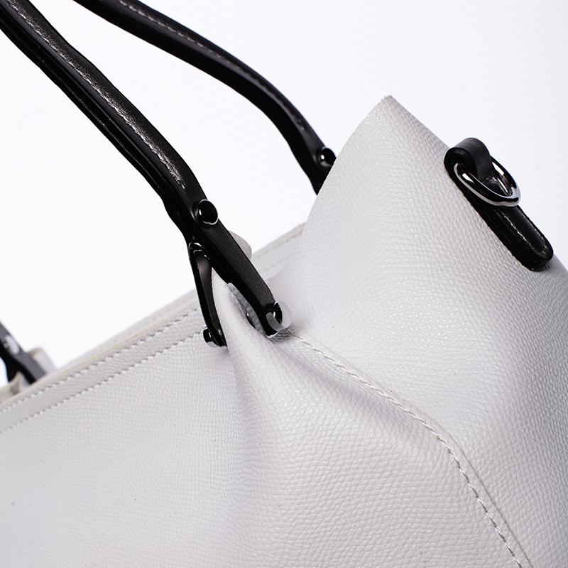 Luxusní kabelka Tommasini LAETITIA, bílá