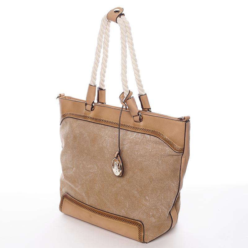 Originální dámská kabelka Mc Mary CECILE, hnědá
