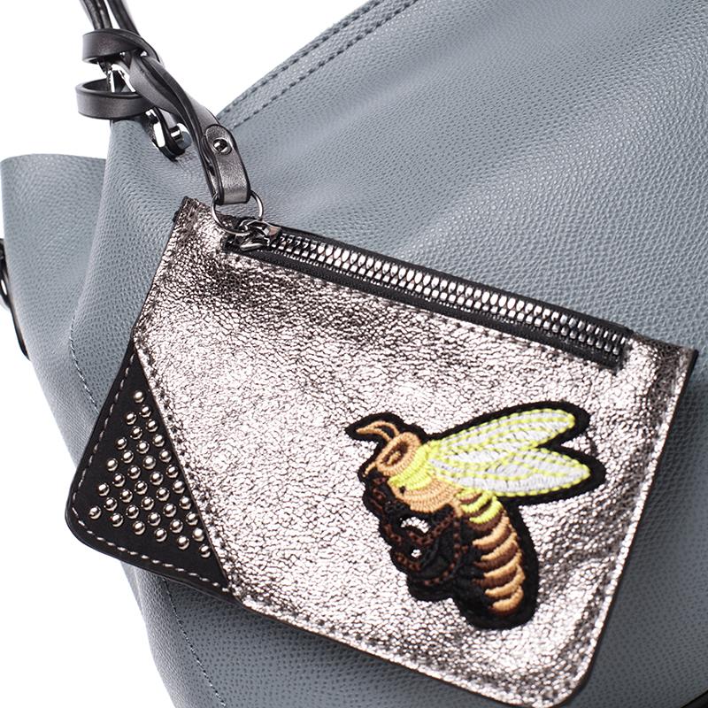 Luxusní kabelka Tommasini LAETITIA, modrá