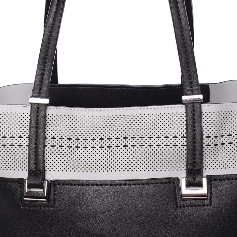 Trendy dámská kabelka přes raameno Tommasini GENEVIEVE, černá