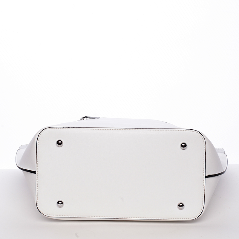 Trendy dámská kabelka přes raameno Tommasini GENEVIEVE, bílá