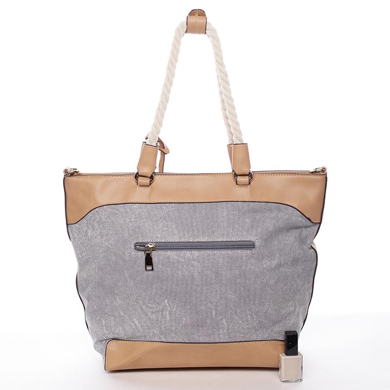 Originální dámská kabelka Mc Mary CECILE, šedá