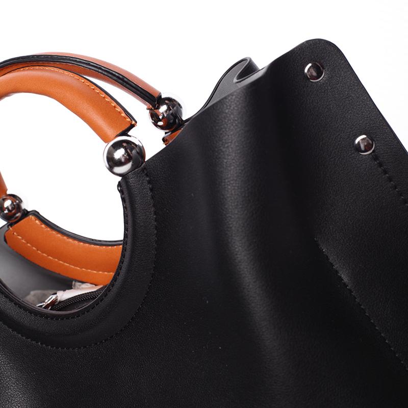 Módní kabelka Tommasini ODETTE, černá