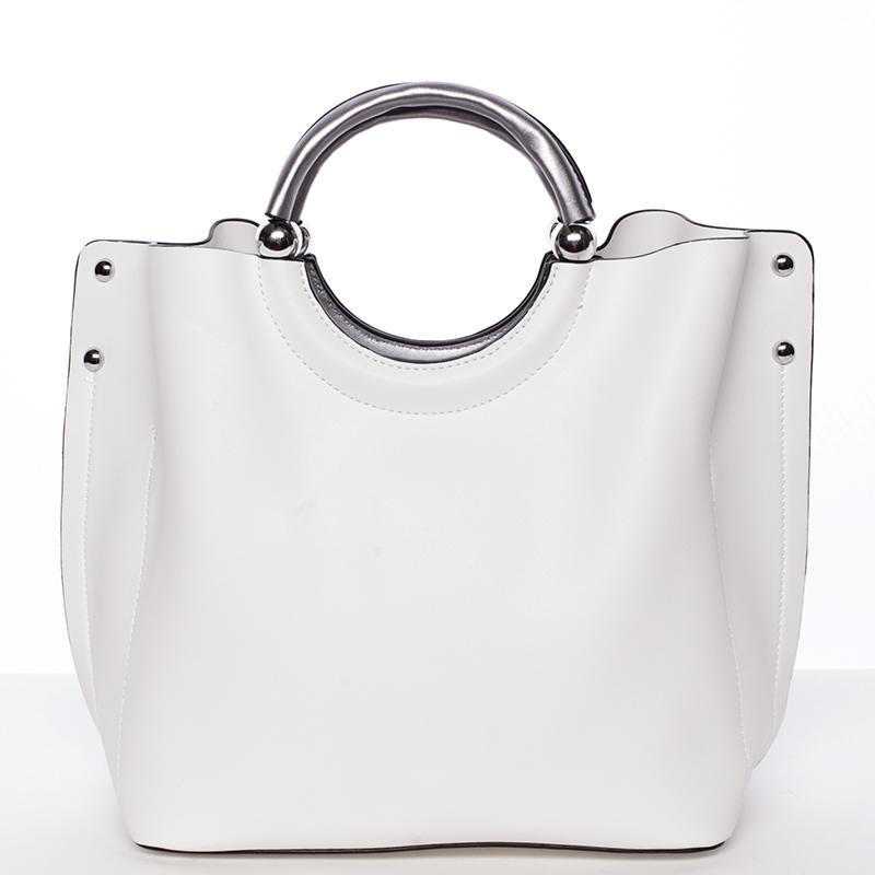 Módní kabelka Tommasini ODETTE, bílá