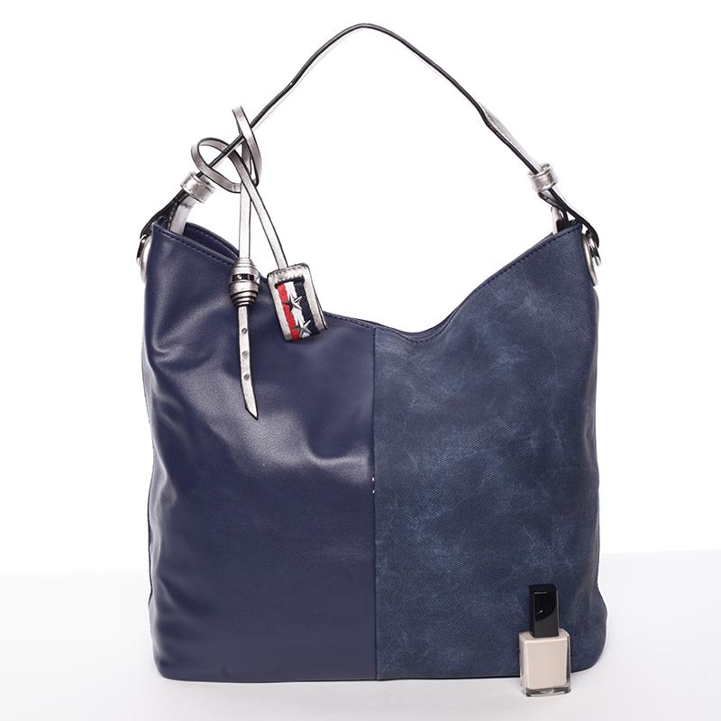 Originální dámská kabelka přes rameno Bárbara, modrá