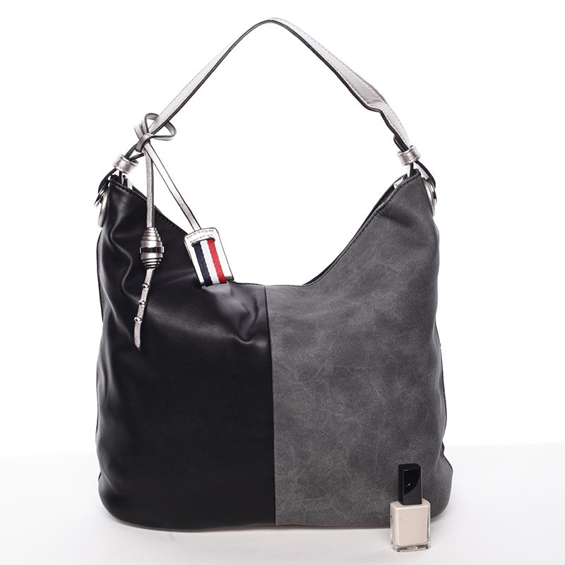 Originální dámská kabelka přes rameno Bárbara, černá