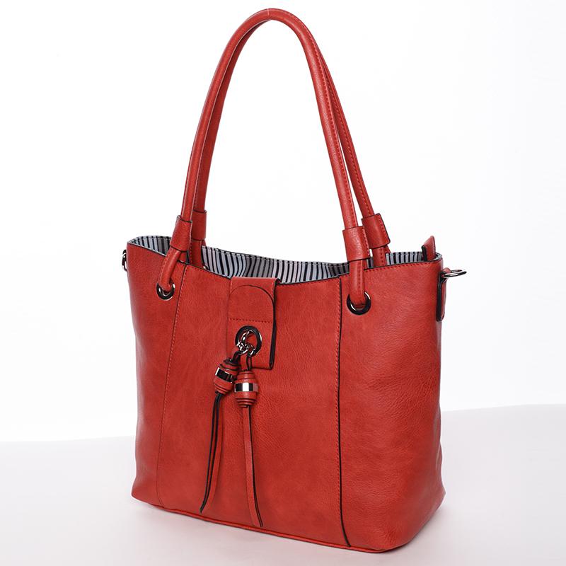 Stylová dámská kabelka MC Mary Blanca, červená