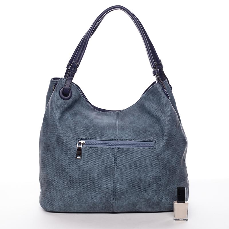 Modrá  módní kabelka přes rameno Cleopatra