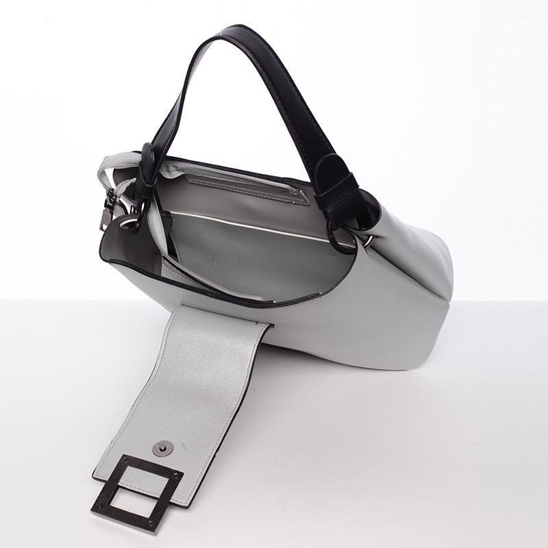 Luxusní kabelka Tommasini Esperanza, stříbrná