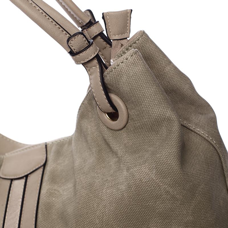 Zelená módní kabelka přes rameno Cleopatra