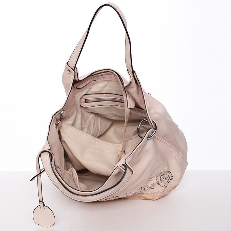 Moderní vzorovaná kabelka Mc Mary Felicitas, růžová