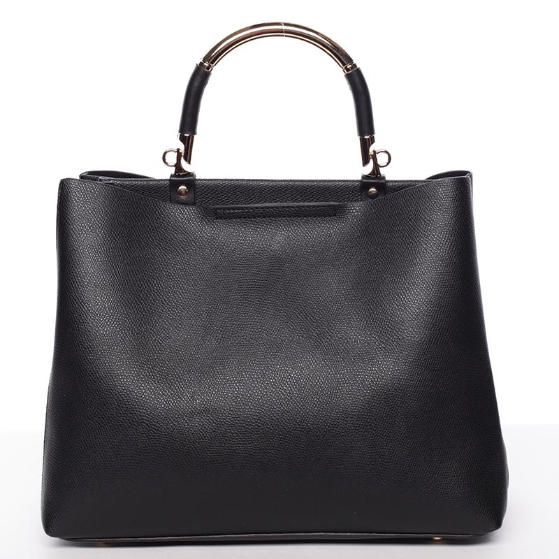 Krásná kabelka Tommasini Luana, černá