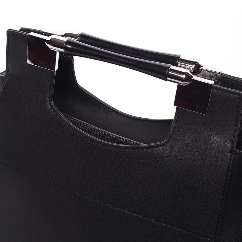 Extravagantní kabelka Tommasini Perla, černá