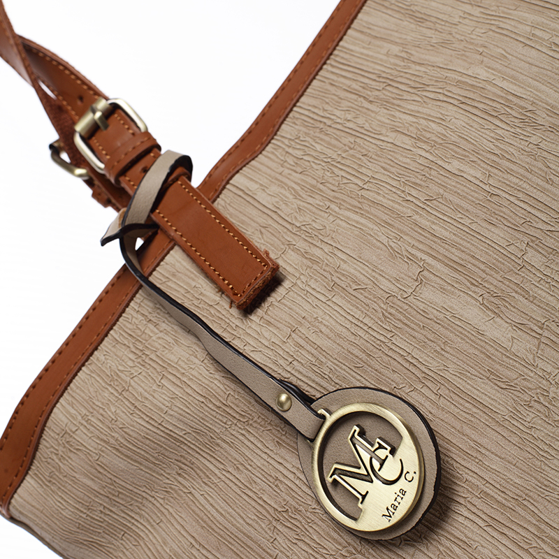Trendy kabelka Mc Mary Rebeca, světle oříšková