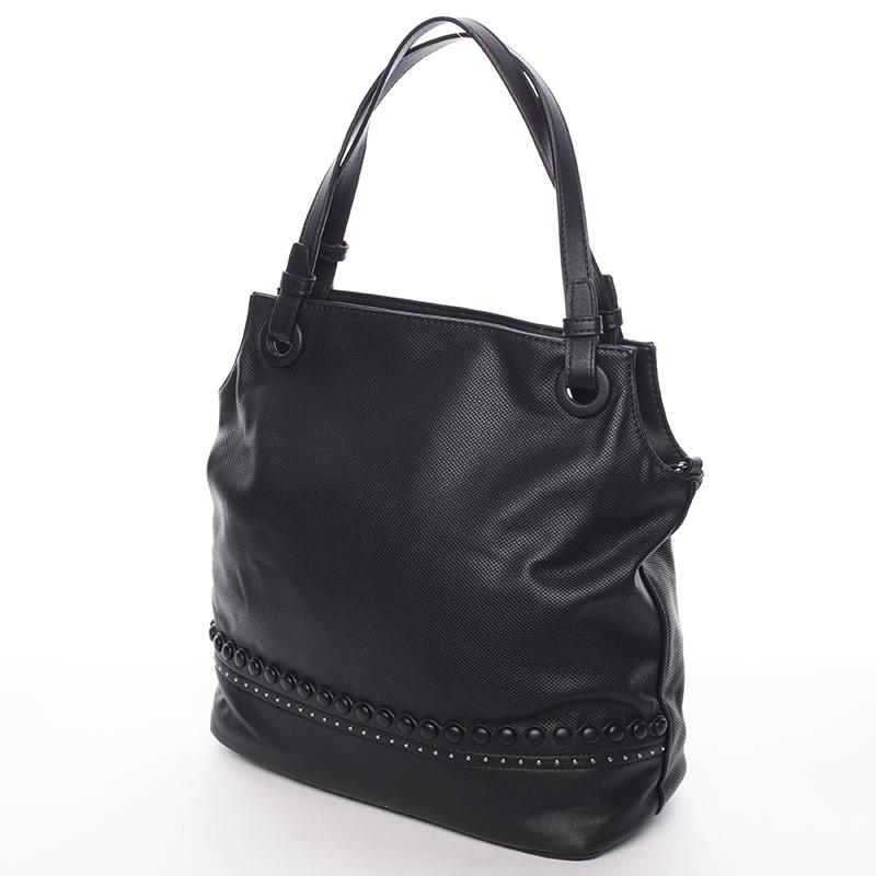 Stylová dámská kabelka přes rameno Venus, černá