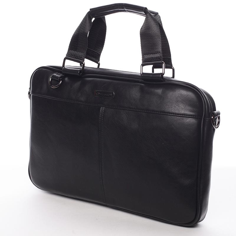 Bellugio taška na notebook černá