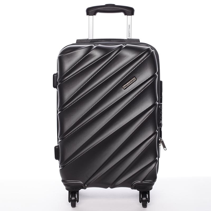 Cestovní kufr Bellugio Carla II, 4. kolečka, černý