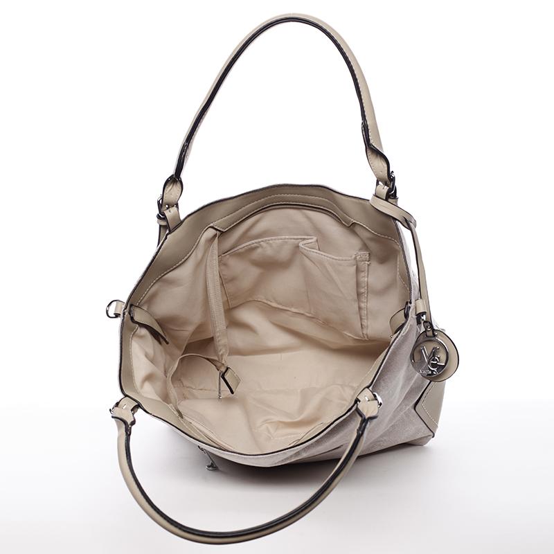 Dámská kabelka přes rameno Rita, světle hnědá