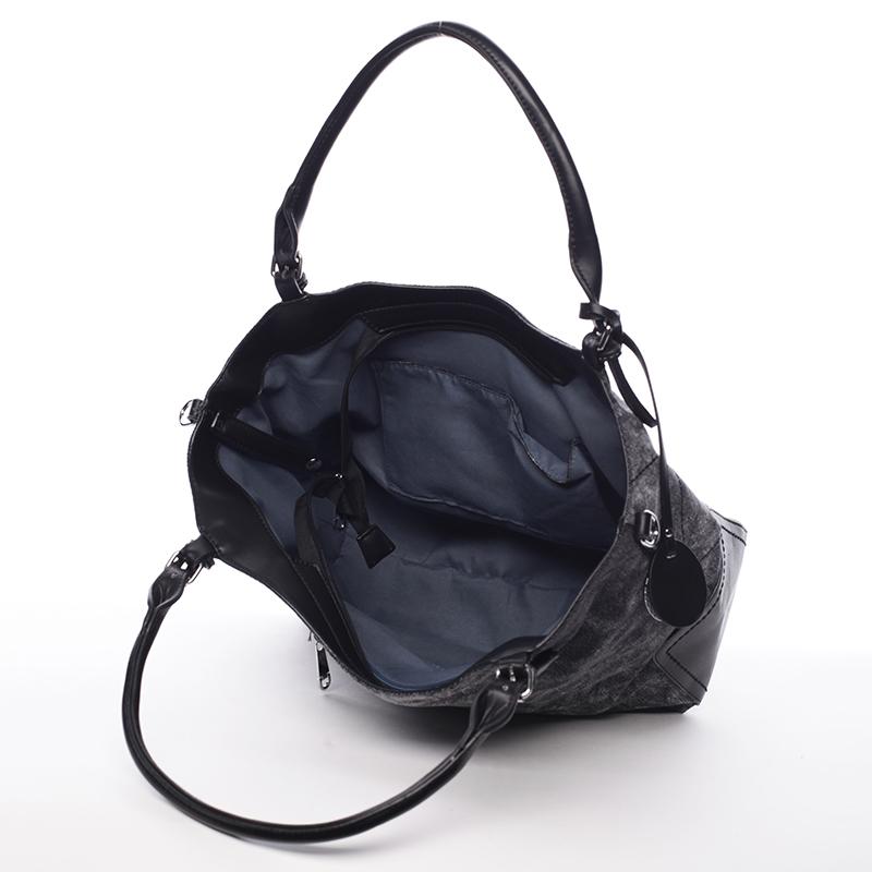 Dámská kabelka přes rameno Rita, černá