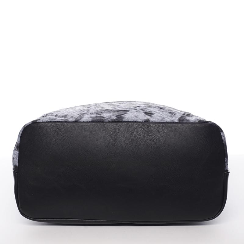 Moderní a stylová kabelka Mc Mary Raquel, černá