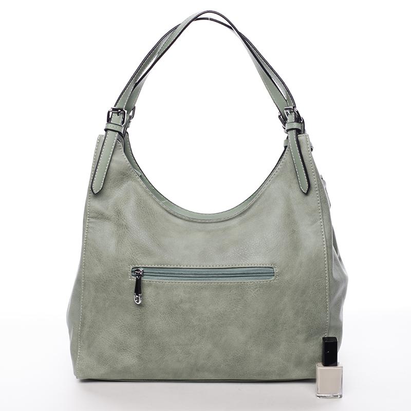 Dámská módní kabelka přes rameno Nazarena, zelená