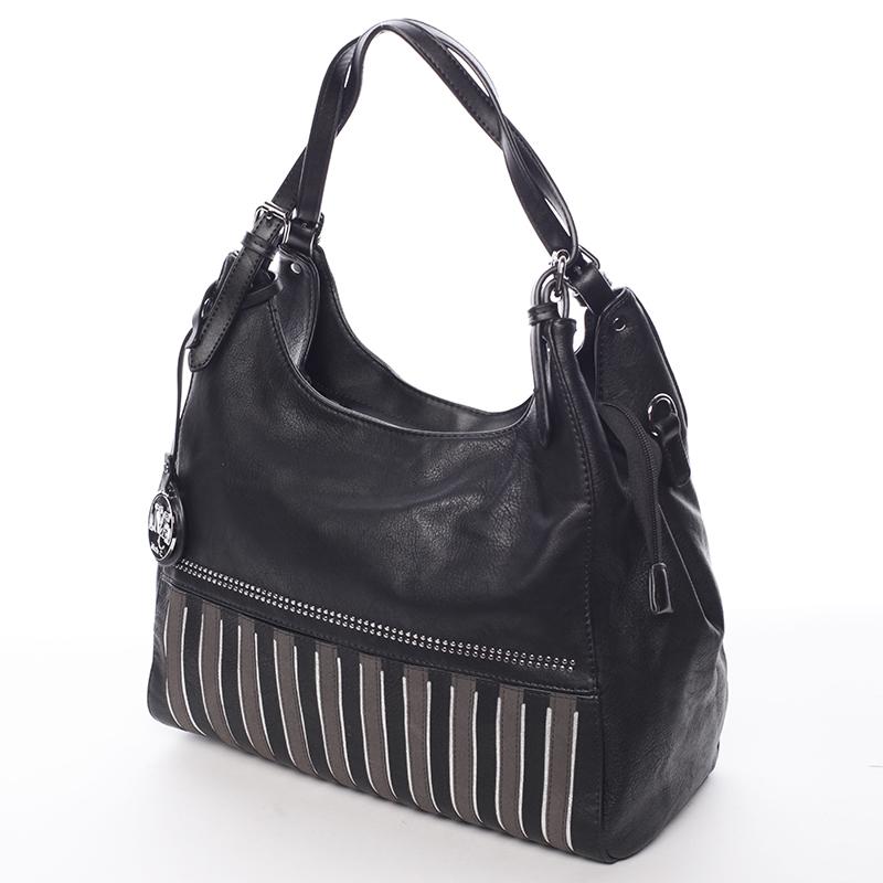 Dámská módní kabelka přes rameno Nazarena, černá
