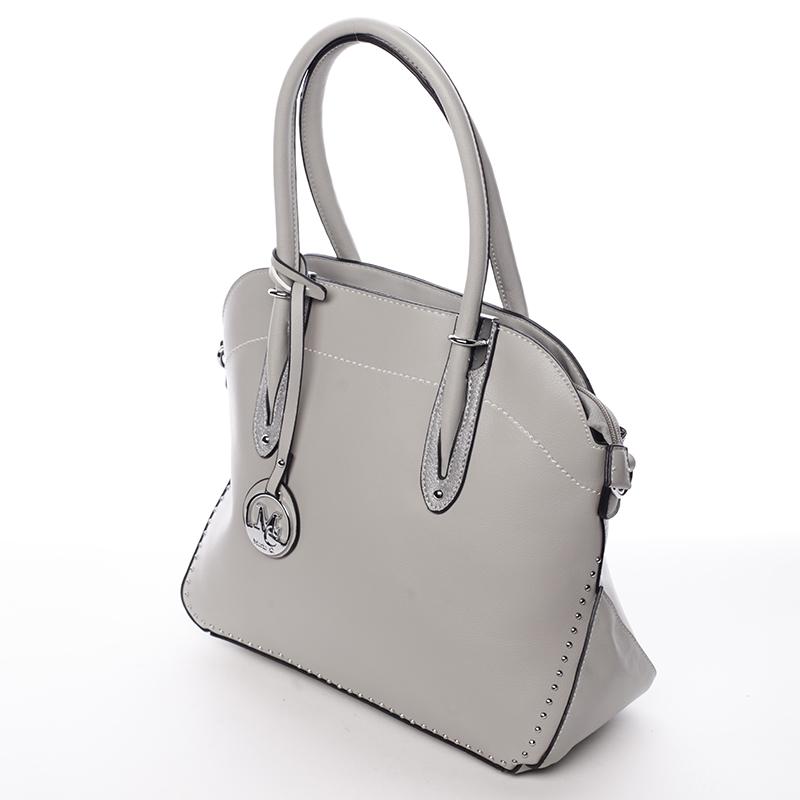 Nadčasová kabelka přes rameno Mía, šedá